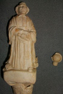 Modelage statue Gassendi