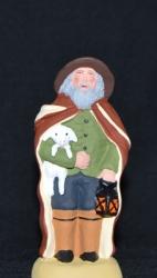 Le vieux berger et son agneau