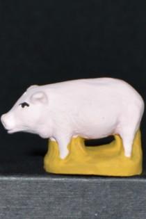 cochon 6 cm vue latérale