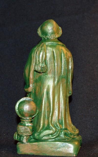 statue de Gassendi de dos