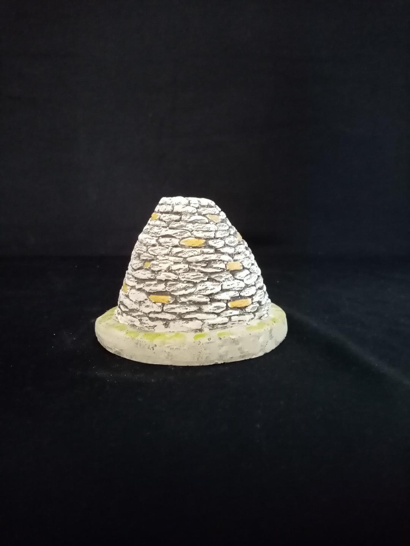 bori plâtre vue de derrière
