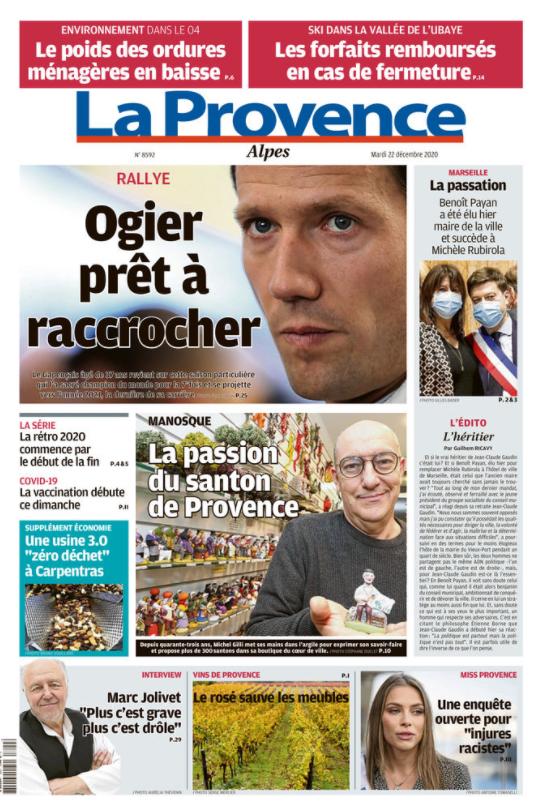 une journal la provence la passion du santon de provence